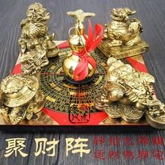 开光纯铜葫芦龙摆件风水转运招财聚宝龟金蟾貔貅罗盘麒麟聚财阵盆