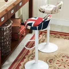 吧凳奶椅高脚登北欧高登吧椅新古典旋转服装店休闲子高脚桌椅