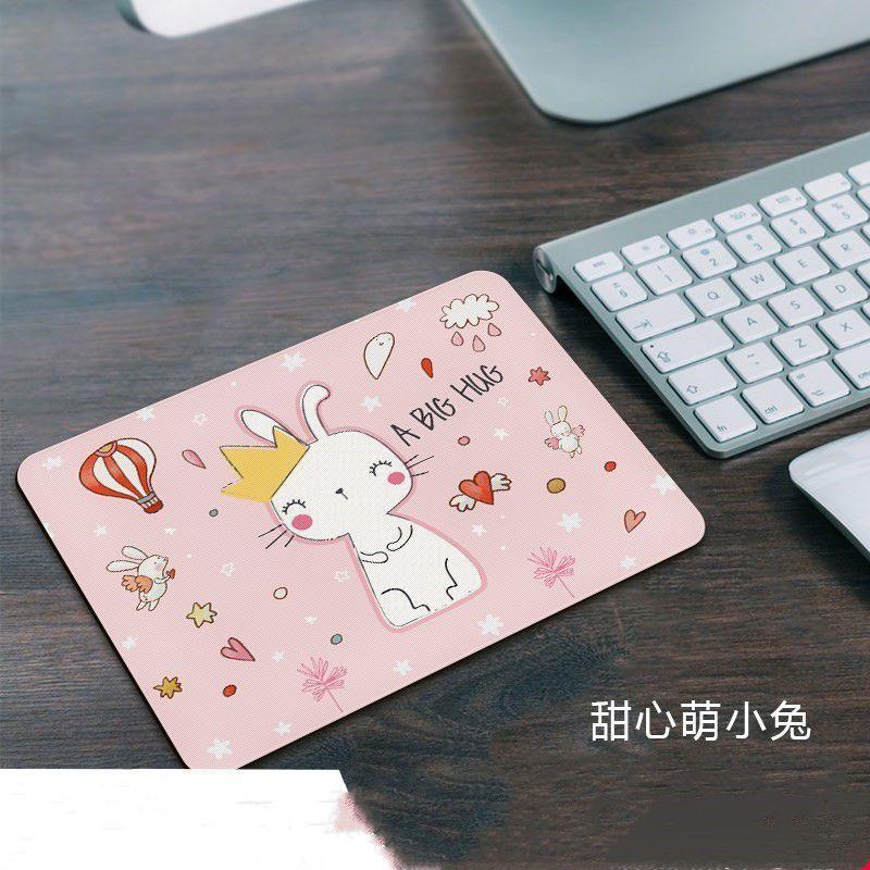 游戏鼠标垫超小号加厚创意可爱卡通女生鼠标垫办公桌垫键盘垫