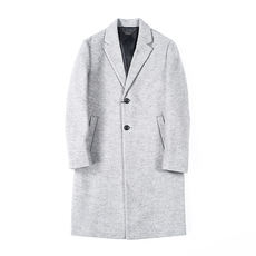 Reduced by 100! Clearance is not returned! Men's woolen coat