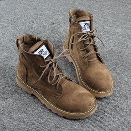 2019新款短靴女四季ins马丁靴短筒英伦风秋季百搭韩版棉靴女靴子
