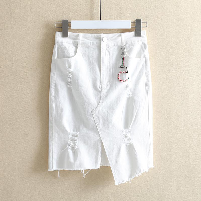 【达系列】裙子夏女2018新款半身裙折扣店品牌女装半身裙特价正品