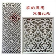 Carved panel carved window American flower board carving high density board ceiling new Chinese hollow board embossed cutting window