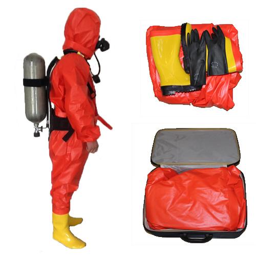 轻型防化服/防化服/全密封防化服/液氨防护服/防酸碱防毒衣
