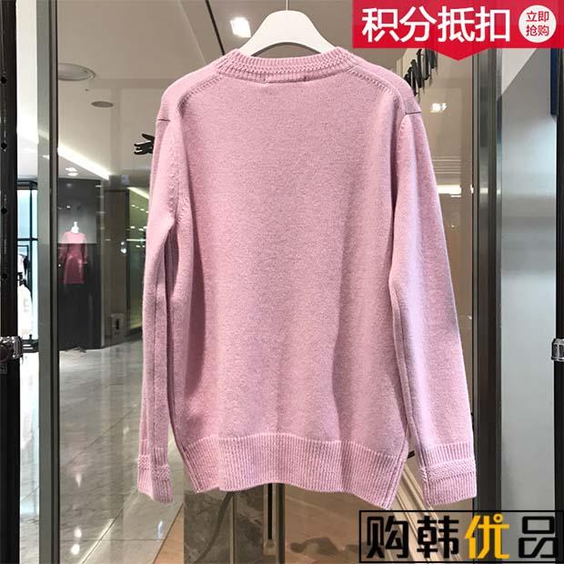 日本購[74折/吊牌價1368] SJYP 18冬季 新款針織衫 PWMS4KU549 購