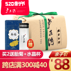 卢正浩茶叶绿茶特级明前安吉白茶2018新茶传统包100克春茶上市