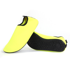 潜水浮潜鞋男女沙滩鞋涉水鞋贴肤健身运动跑步机鞋纯色成人游泳鞋