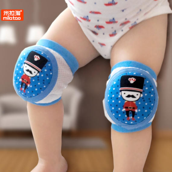 Baby knee pads, anti-fall, baby crawling toddler, summer thin section, sports cover, child, child, summer, child, elbow