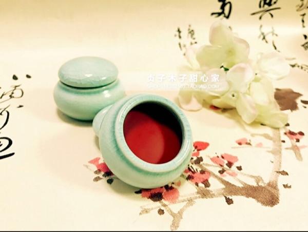 花瓣制作古法口红唇脂口脂胭脂孕妇哺乳期可用可以免卸包邮送刷