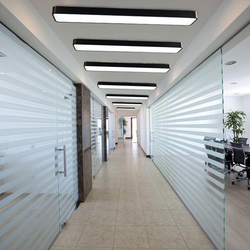 办公室led吸顶灯简约现代会议室长方形阳台过道走廊长条客厅灯具图片