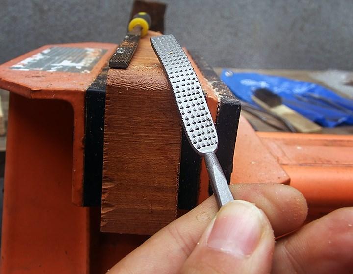 月色意式套装木工专业木雕锉刀异形  硬木木工锉 什锦锉 打磨工具