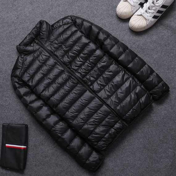 Anti-season clearance light down jacket men's stand collar large size youth ultra-thin slim short men's down jacket
