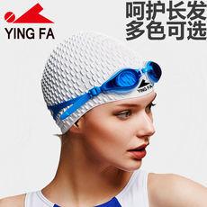 Gorras de natación británicas para el cabello 48475f56778