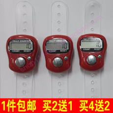 Foreign trade electronic finger counter / ring type Buddha finger counter with battery packaging