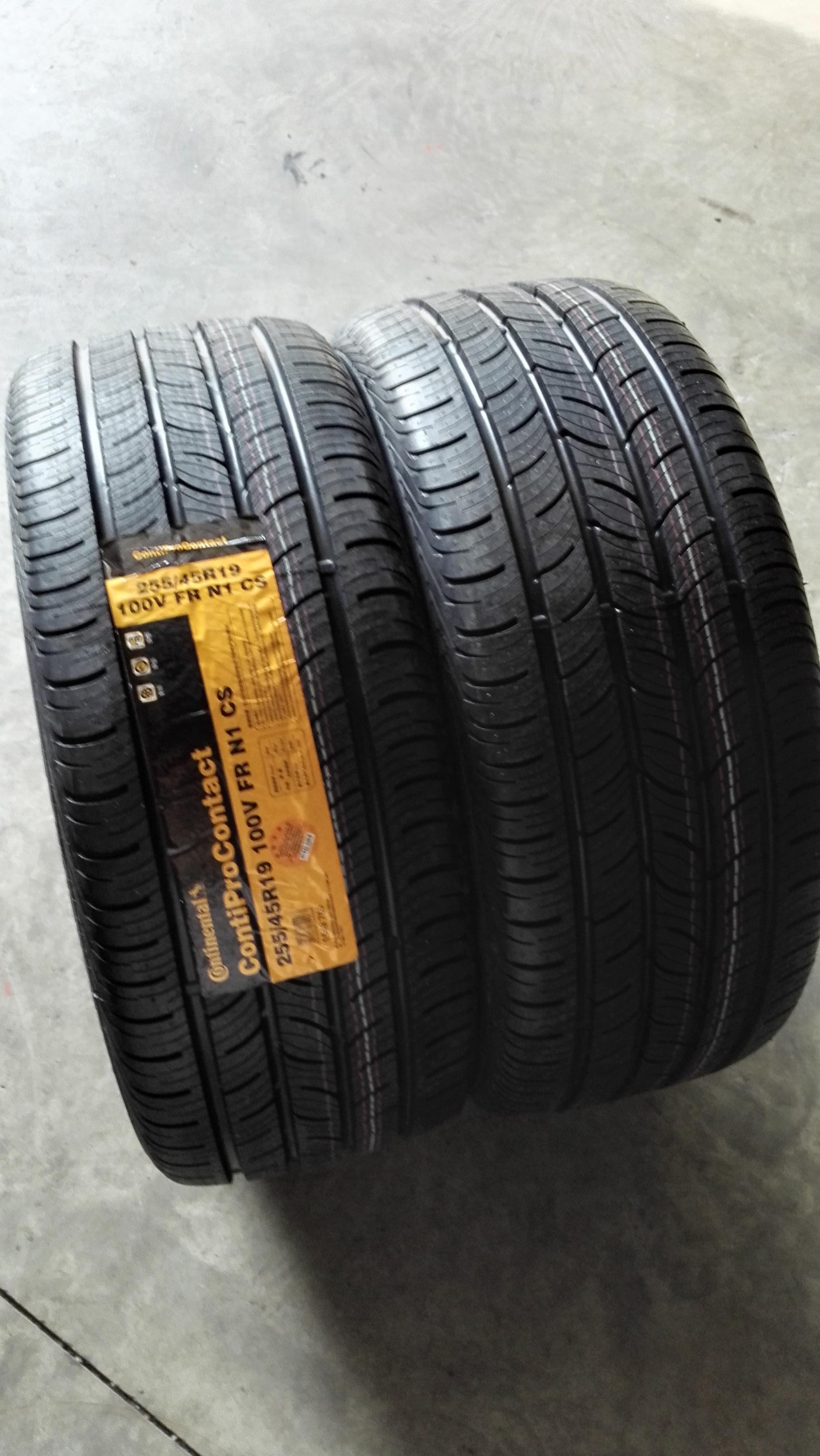 马牌自修补轮胎 255/45r19 100v cproc cs n1保时捷帕拉梅拉前轮图片