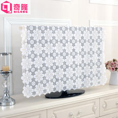 TV cover cloth lace wall-mounted LCD 324250 TV cover dust cover 506065 inch cover towel