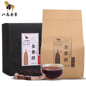八马茶业 云南普洱茶熟茶茶叶散茶熟普袋装黑茶自饮250克
