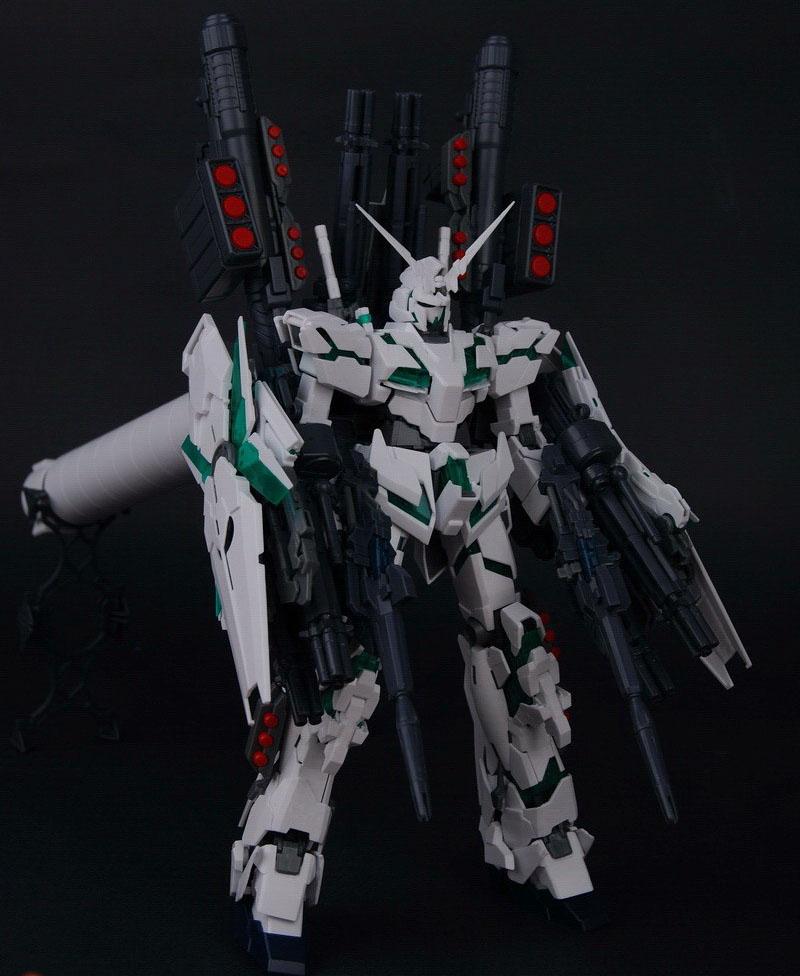 大班 6638 MG 独角兽 全装备 觉醒 最终决战装备 OVA 1/100
