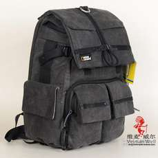 National Geographic NGW5070 Men and women canvas casual camera bag Shoulder SLR camera computer backpack