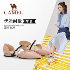 骆驼女鞋 2019春季新款 舒适优雅柔美气质质感舒适女单鞋
