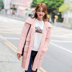Autumn new fashion sanding Korean coat