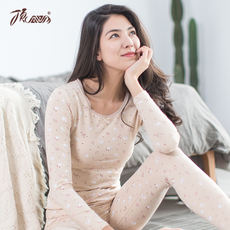 Top melon female autumn and winter thermal underwear suit long-sleeved Slim thin section female autumn clothing Qiuku cotton sweater variety optional
