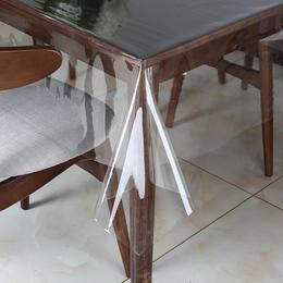 超薄下垂软塑料玻璃PVC透明桌布餐桌垫防水免洗台布保护膜茶几垫