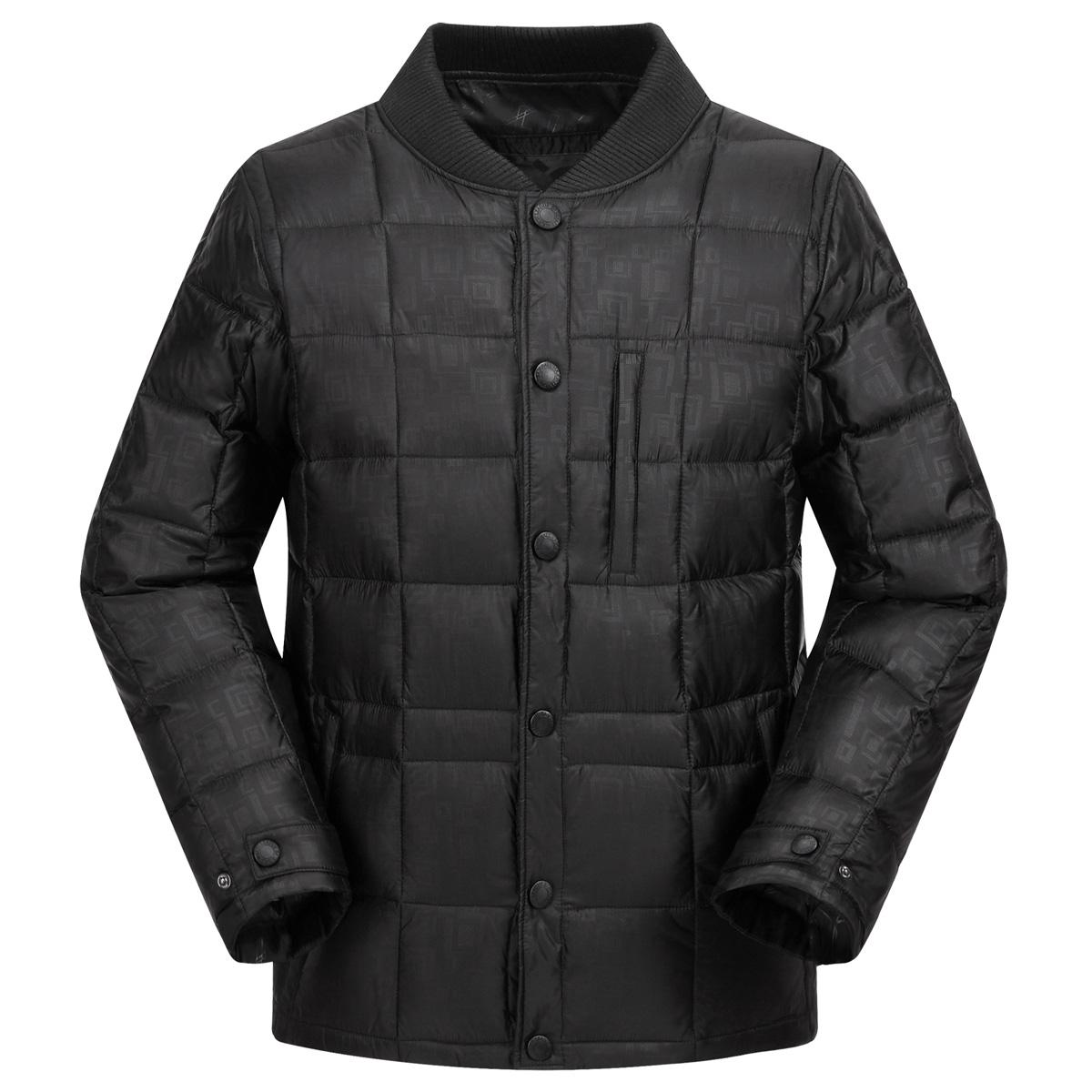 羽绒内胆男中老年加厚新款冬装保暖长袖内外穿羽绒服内胆内恤内衣