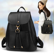 Backpack female 2018 new Korean student bag casual college fashion trend fashion ladies bag travel backpack