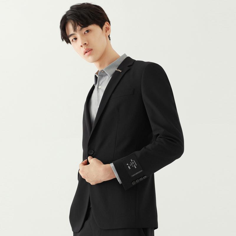 GXG男装     时尚潮流西服上衣绅士休闲套西#GA113577E