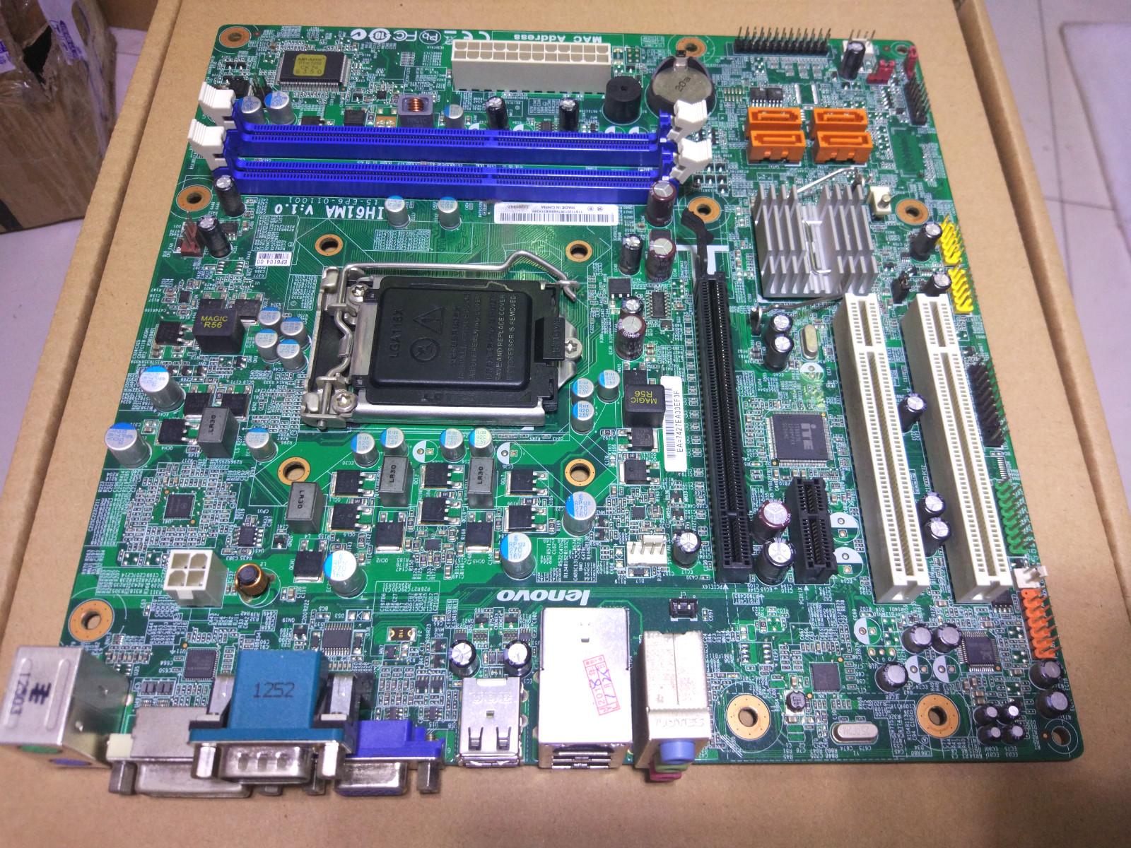 联想IH61MA V1.0 1155针 支持22nm 税控专用 带DVI接口 有PCI插槽