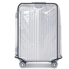 Spot Transparent PVC Trolley Case Cover Luggage Case Cover Travel Case Cover Waterproof and Wearable