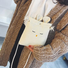 Dark loli with the fast hand chic portable Hong Kong fairy fairy bag female diagonal cross small group kumayes spring