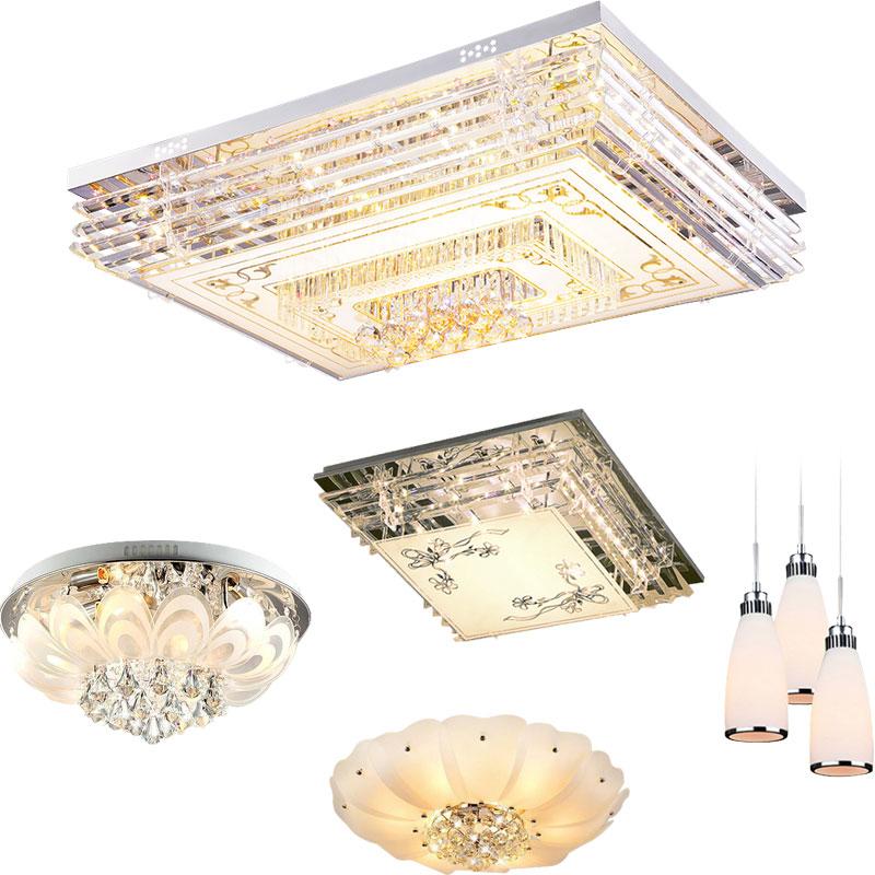 全屋灯具套餐套装三室两厅组合led吸顶灯客厅灯现代简约大气家用