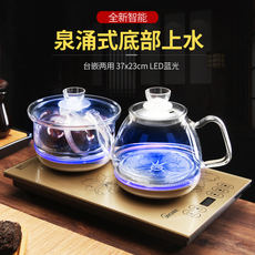 Fully automatic bottom kettle electric kettle stainless steel kettle pumping teapot household tea stove set