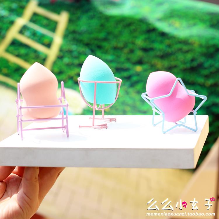 防发霉美妆蛋晾晒葫芦粉扑化妆绵海绵蛋粉扑收纳架鸡蛋架托