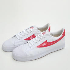 Double Star basketball shoes old canvas shoes men's shoes women's shoes white help red basketball training shoes double star sports shoes