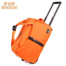 Trolley bag men and women boarding hand luggage suitcase waterproof ultra light tow box trolley bag trolley bag handbag
