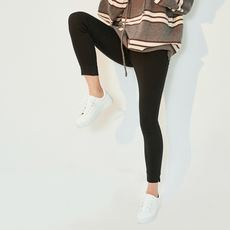 High elasticity is not easy to deformation does not fade the color of wild comfortable open fork feet pants leggings