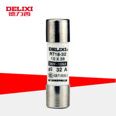 Delixi 10 Pack RT14-20RT18 Cylinder Fuse Fuse Core 10*38 2A~32A