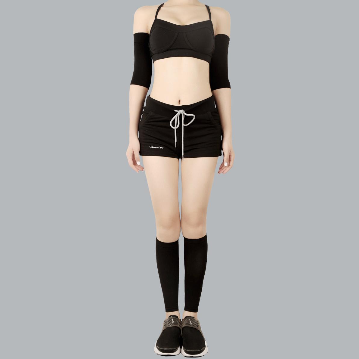 放松肌肉 改善蝴蝶袖拜拜袖瘦手臂 瘦小腿套 吸脂手术后可用