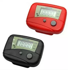 Multi-function electronic pedometer Calculate running calories and consume calories Portable simple fitness