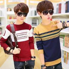 Autumn and winter new teen 13 sweater 14 sets of 15 sweaters 16 Slim boy 17 junior high school students 18 years old