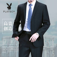 Playboy men's suits middle-aged large size business dress professional suit suit wedding dress daddy