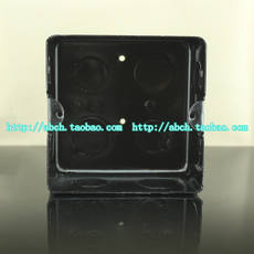 Floor socket / ground insert product special bottom box / cassette mounting hole distance 84mm