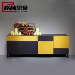现代简约北欧烤漆餐边柜储物柜碗柜茶水柜备餐柜卧室电视柜时尚
