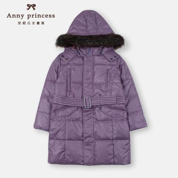 Girls down jacket long winter clothing New new big children hooded thick coat children down jacket women