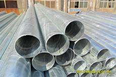 Export galvanized spiral pipe GB hot-dip galvanized spiral steel pipe Hot-dip galvanized spiral welded pipe