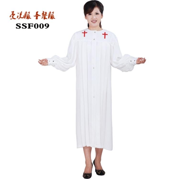 受洗服洗礼服圣餐服以弗得圣服圣诗服诗班服主耶稣基督教诗班圣服