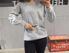 Wholesale price Women's Clothing Clothes Clearance Market Weihuo Stall Factory Outlet Low Price Purchase Sweatshirt